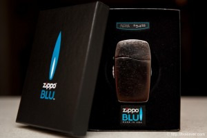 Zippo Blu Linie Gasfeuerzeug