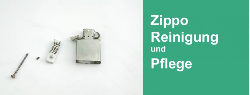Wartung und Reinigung von Zippo Feuerzeugen