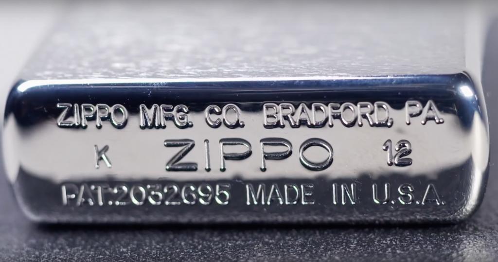 Zippo Sturmfeuerzeug Made in USA