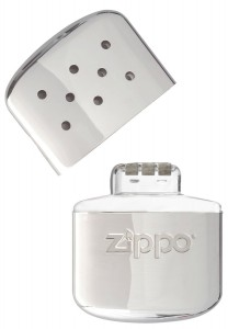 ZIPPO Handw/ärmer Premium Set Taschenw/ärmer Chrom Gro/ß 12 Stunden Laufzeit 2 x Benzin