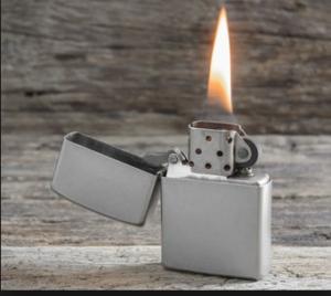 typisches Benzinfeuerzeug